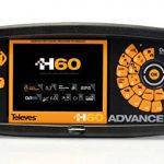 Televes - Medidor campo h60 full hd+circuito impreso+dvb-t2+3,3g+fibra optica